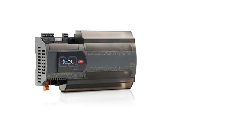 Hecu sistema evolves to work with natural refrigerants by integrating management of DC inverter compressors for CO2 refrigerant