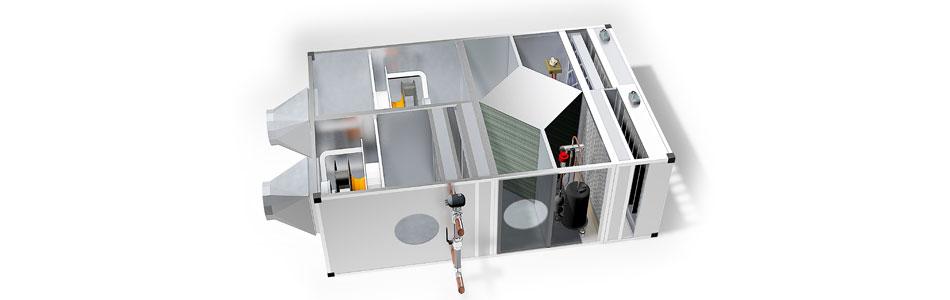 Maximising heat recovery efficiency in ventilation units